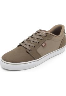 Tênis Dc Shoes Anvil Tx La Bege