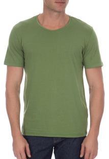 Camiseta Masculina Verde Lisa - P