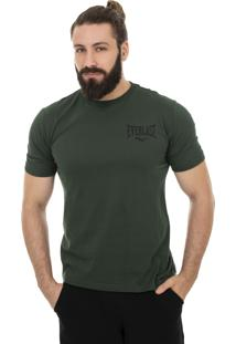 Camiseta Everlast Greatness Is Whithin Costas Verde Militar.