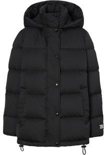 Burberry Monogram Puffer Jacket - Preto