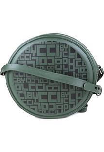 Bolsa Colcci Mini Bag Quebek Full Print Feminina - Feminino-Verde