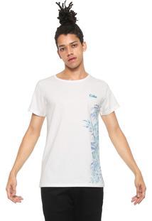 Camiseta Coca-Cola Jeans Estampada Off White