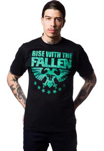 Camiseta Fallen Civil Preto