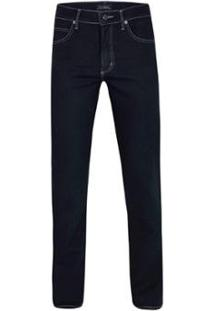 Calça Jeans Pierre Cardin Navy Soft Masculina - Masculino-Marinho