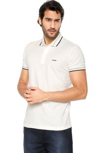 Camisa Polo Sommer Linhas Bege