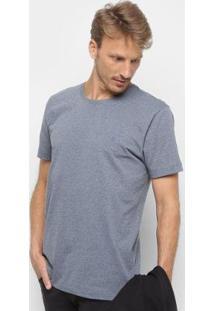 Camiseta Básica Manga Curta Forum Masculina - Masculino-Marinho
