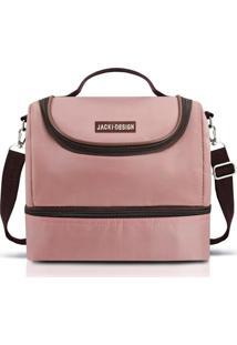 Bolsa Termica Jacki Design 2 Divisorias Ahl17398 Rosa - Kanui