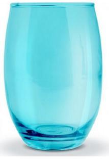 Conjunto De Copos Bellagio Azul 450Ml 6 Peças Casa Linda