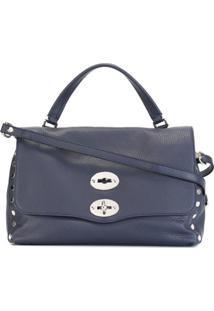 Zanellato 'Postina S' Shoulder Bag - Azul