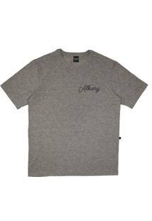 Camiseta Alkary Âncora Cinza