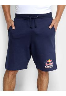 Bermuda Moletom Red Bull Racing Ii Masculina - Masculino
