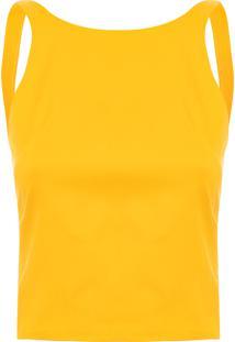 Blusa Feminina Mergulhadora - Amarelo