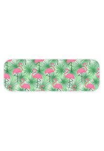 Passadeira Wevans Flamingos Verde