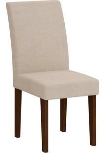 Cadeira Grécia - Rufato - Castor / Creme