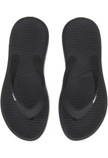 Chinelo Nike Solay Thong - Masculino - Preto