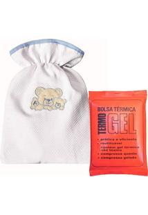 Bolsa Tã©Rmica Padroeira Baby FamãLia Urso Azul - Azul - Menino - Dafiti