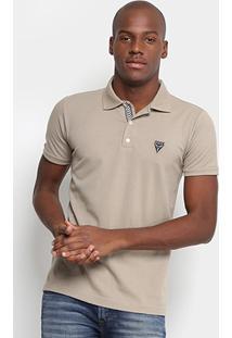 Camisa Polo Opera Rock Piquet Logo Bordado Masculina - Masculino