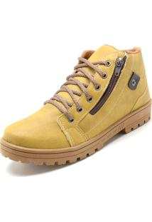 Bota Ride Skateboard Vegan Amarela