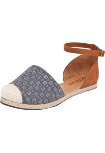 Sapatilha Alpargata Dafiti Shoes Azul/Caramelo