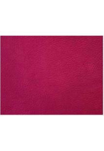 Papel De Parede Liso Vermelho Corium Vinílico 53Cm X 10M Muresco