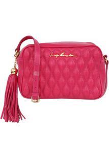 Bolsa Em Matelassê Rosa