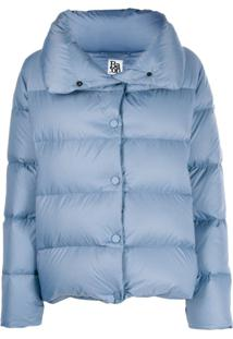 Bacon Feather Down Puffer Jacket - Azul