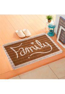 Capacho Carpet Family Marrom