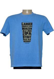 Camiseta Masc Dopping 015268614 Azul