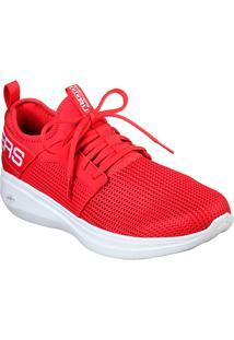 Tênis Skechers Go Run Fast Masculino - Masculino-Vermelho