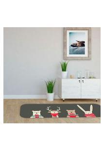 Passadeira De Natal Ursinhos Natalinos Único