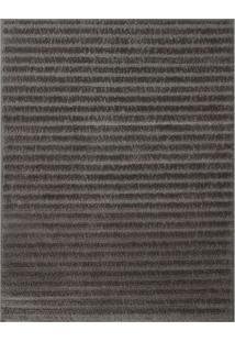 Tapete Jazz Listrado- Marrom Escuro & Taupe- 200X150Oasis