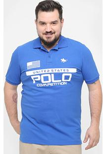 Camisa Polo Rg 518 Competition Plus Size Masculina - Masculino