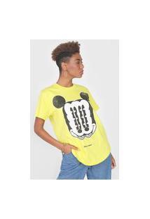 Camiseta Colcci Disney Amarela