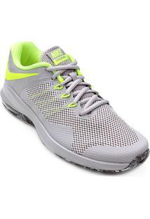 Tênis Nike Air Max Alpha Trainer Masculino - Masculino-Cinza+Verde