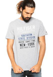 Camiseta Tommy Hilfiger Scanton Cinza