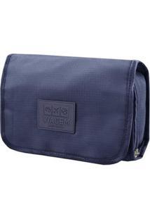 Necessaire De Viagem Jacki Design 3 Em 1 - Unissex-Azul