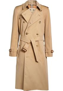 Burberry Trench Coat 'The Long Kensington' - Neutro