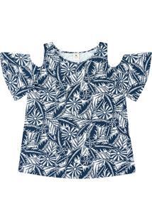 Blusa Feminina Com Ombro À Mostra