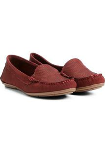 54fcad30e1 ... Mocassim Couro Shoestock Cobra Feminino - Feminino-Bordô