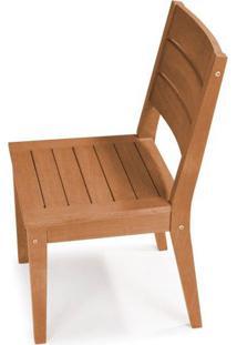 Cadeira Fortaleza Sem Braco Cor Stain Jatoba - 23119 - Sun House