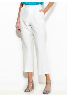Calça Alfaiataria Branco