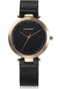 Relógio Curren Analógico C9005L Feminino - Unissex