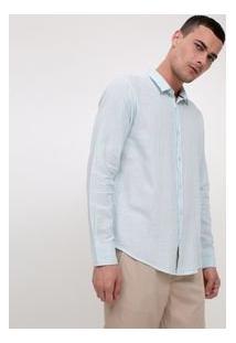 Camisa Comfort Em Linho