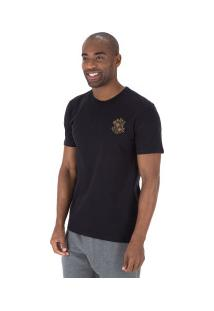 Camiseta Rusty Ink Dot - Masculina - Preto