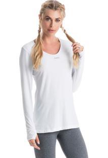 Camiseta Pulse Mg Longa Branco/G