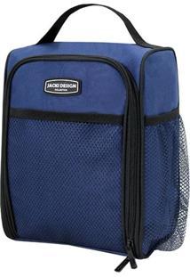 Bolsa Térmica Jacki Design Com Bolsos Azul