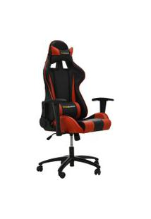 Cadeira Office Pro Gamer V2 Preta E Vermelha Rivatti