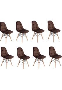 Cadeira E Banco De Jantar Impã©Rio Brazil Boton㪠- Incolor/Marrom - Dafiti
