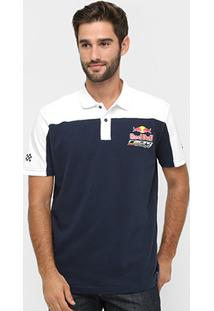Camisa Polo Red Bull Racing Stock Car Gyw Team Masculina - Masculino