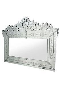 Espelho Veneziano Luis Cor Prata 1,20 Mt (Larg) - 34309 Sun House